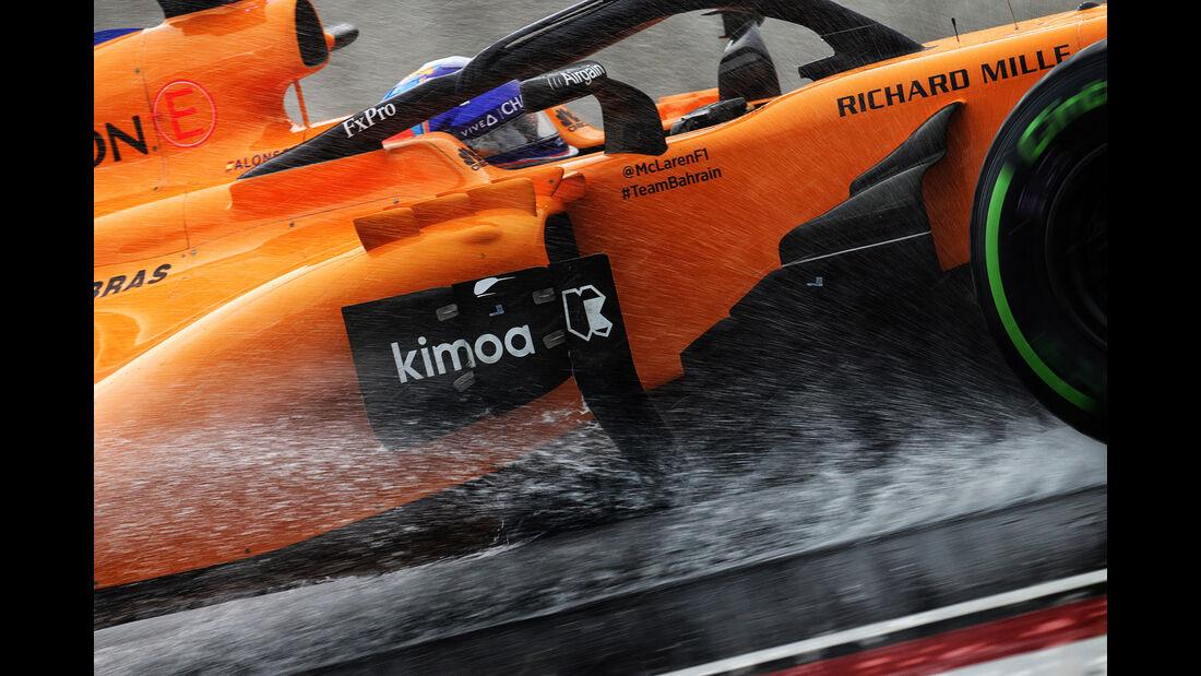 Fernando Alonso - McLaren - GP Ungarn 2018 - Qualifying