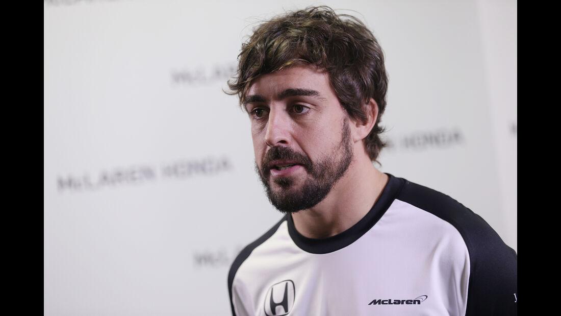Fernando Alonso - McLaren-Honda - 2015