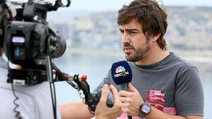 Fernando Alonso - McLaren-Honda - Formel 1 - GP Aserbaidschan 2017 - Baku - Donnerstag - 22.6.2017