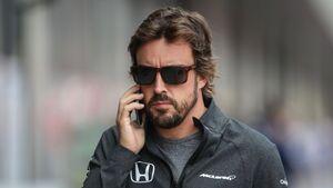 Fernando Alonso - McLaren-Honda - Formel 1- GP England - 15. Juli 2017