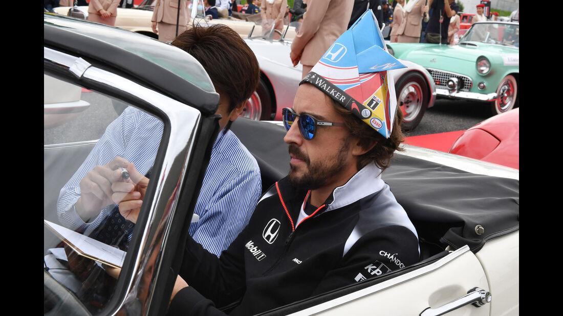 Fernando Alonso - McLaren-Honda - Formel 1 - GP Japan 2016 - Suzuka