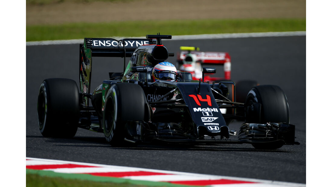 Fernando Alonso - McLaren-Honda - Formel 1 - GP Japan - Suzuka - Freitag - 7.10.2016