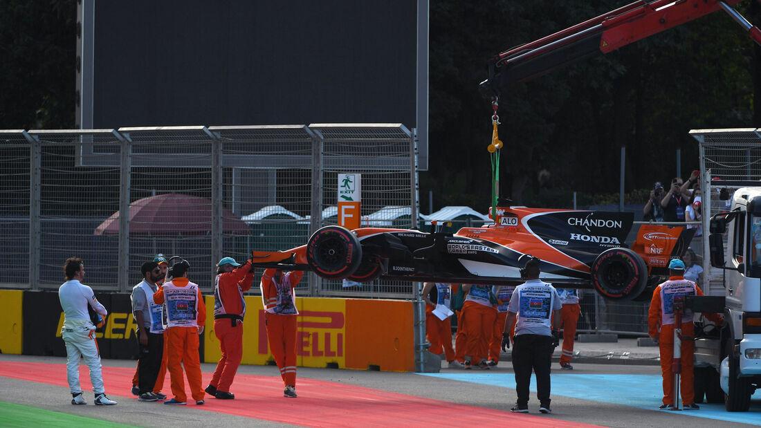 Fernando Alonso - McLaren-Honda - GP Aserbaidschan 2017 - Baku - Training