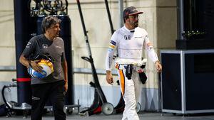Fernando Alonso - McLaren-Honda - GP Bahrain 2017 - Qualifying