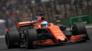 Fernando Alonso - McLaren-Honda - GP China 2017 - Qualifying