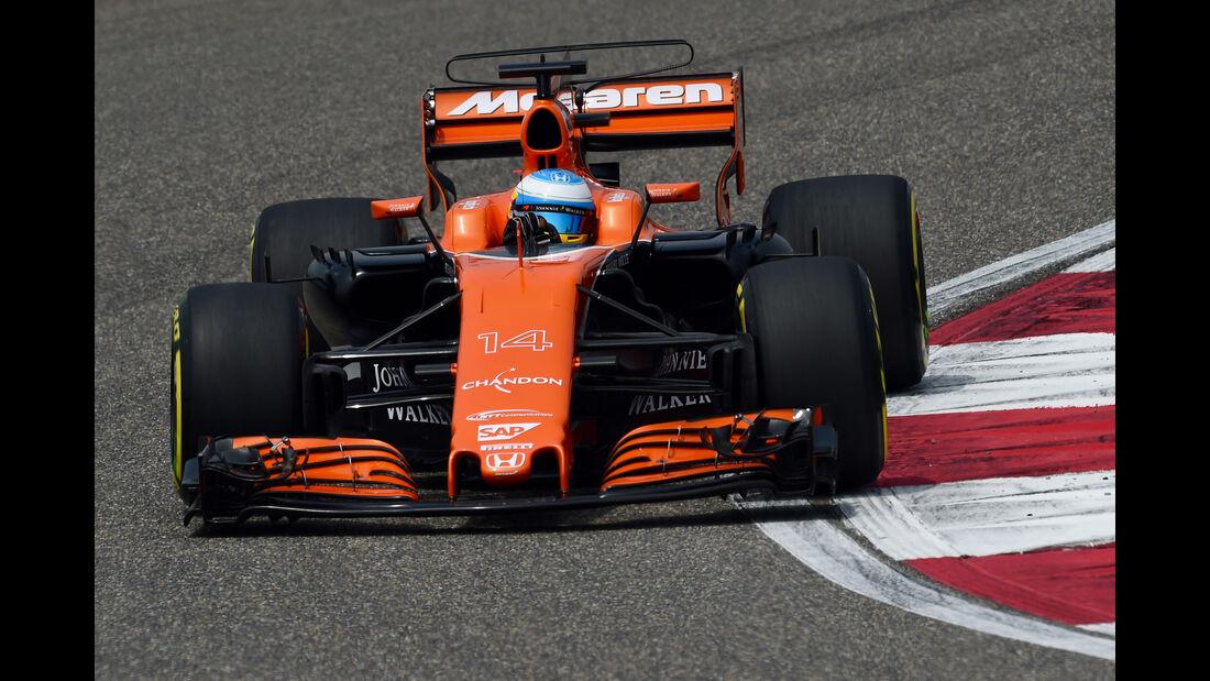 Fernando Alonso - McLaren-Honda -  GP China 2017 - Qualifying - 8.4.2017