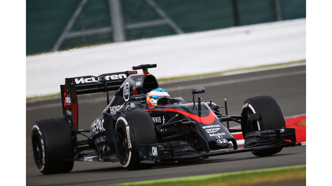 Fernando Alonso - McLaren-Honda - GP England - Silverstone - Rennen - Sonntag - 5.7.2015
