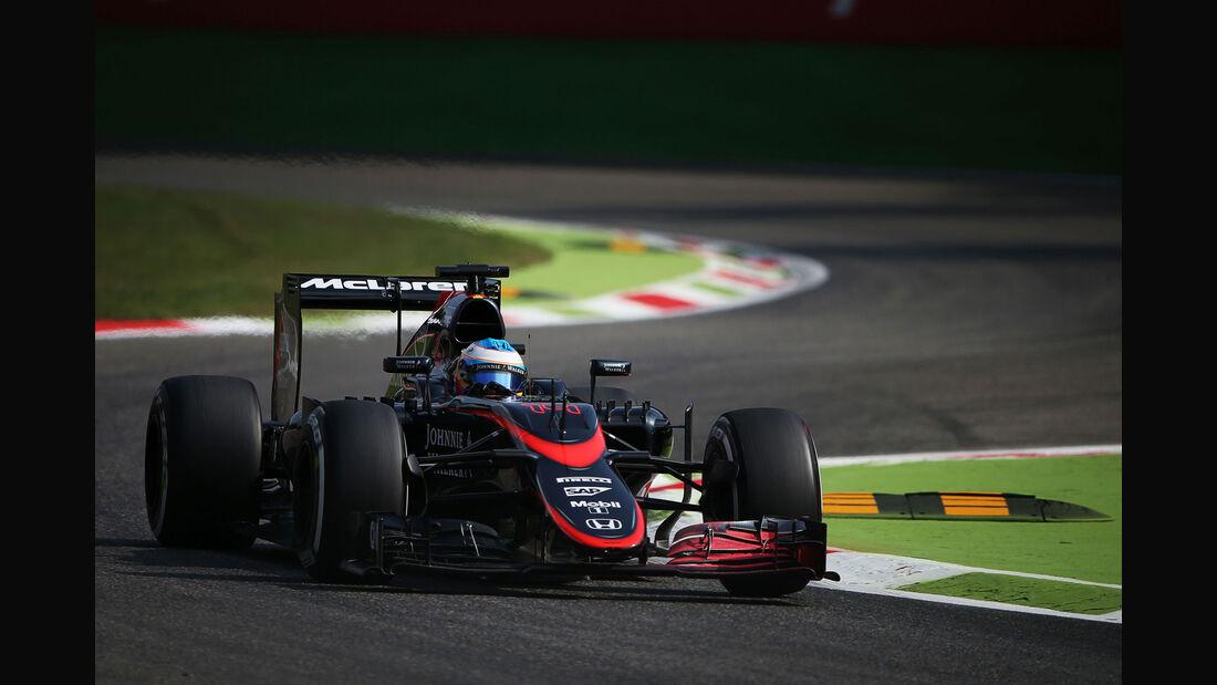 Fernando Alonso - McLaren-Honda - GP Italien - Monza - Freitag - 4.9.2015
