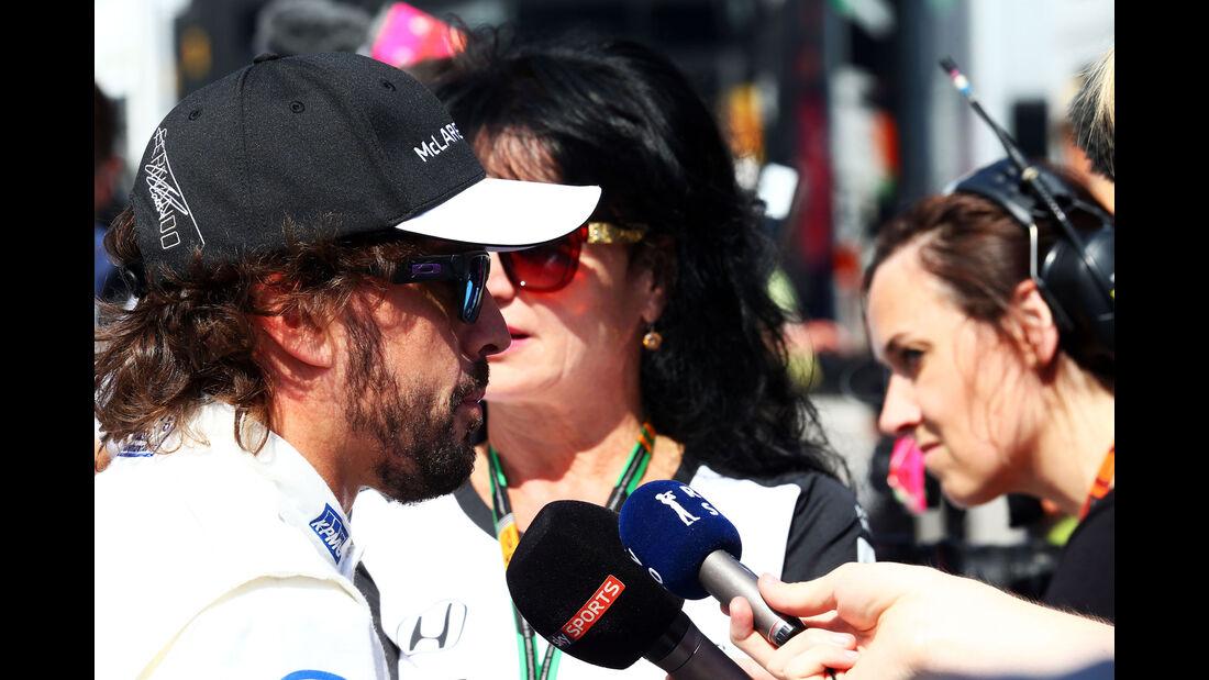 Fernando Alonso - McLaren-Honda - GP Italien - Monza - Qualifying - 5.9.2015