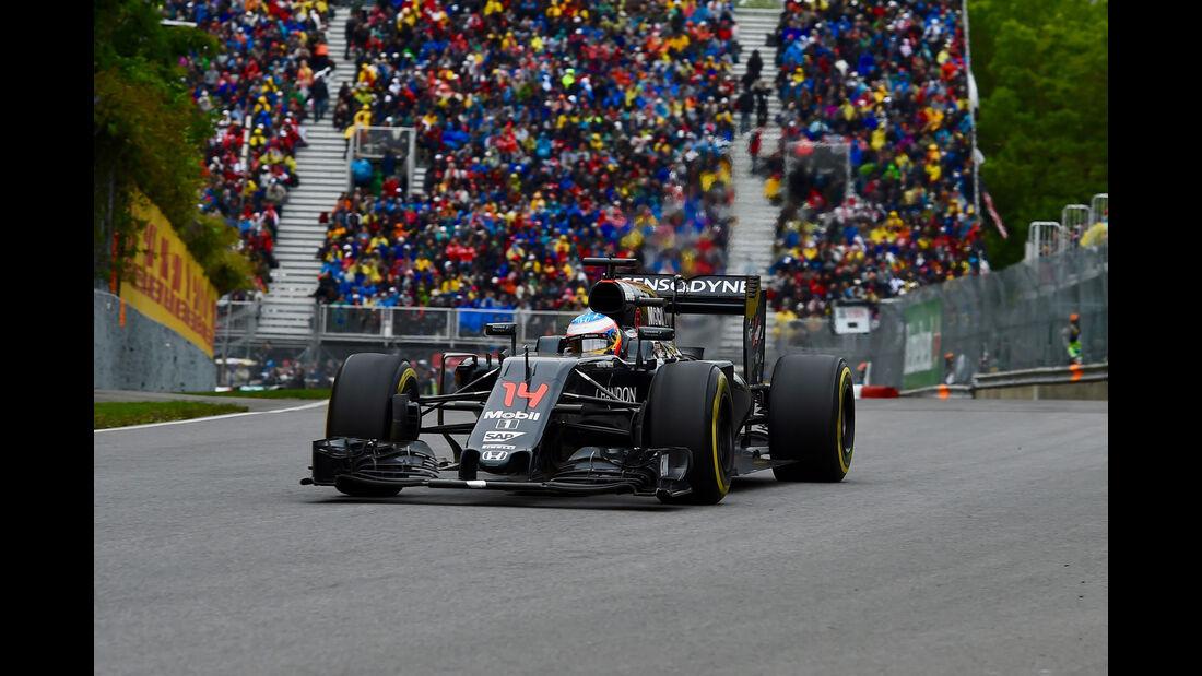 Fernando Alonso - McLaren-Honda - GP Kanada 2016 - Montreal