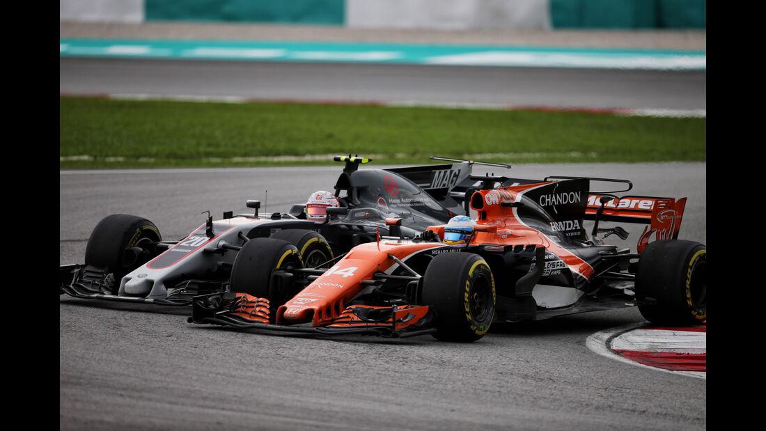 Fernando Alonso - McLaren-Honda - GP Malaysia 2017 - Sepang
