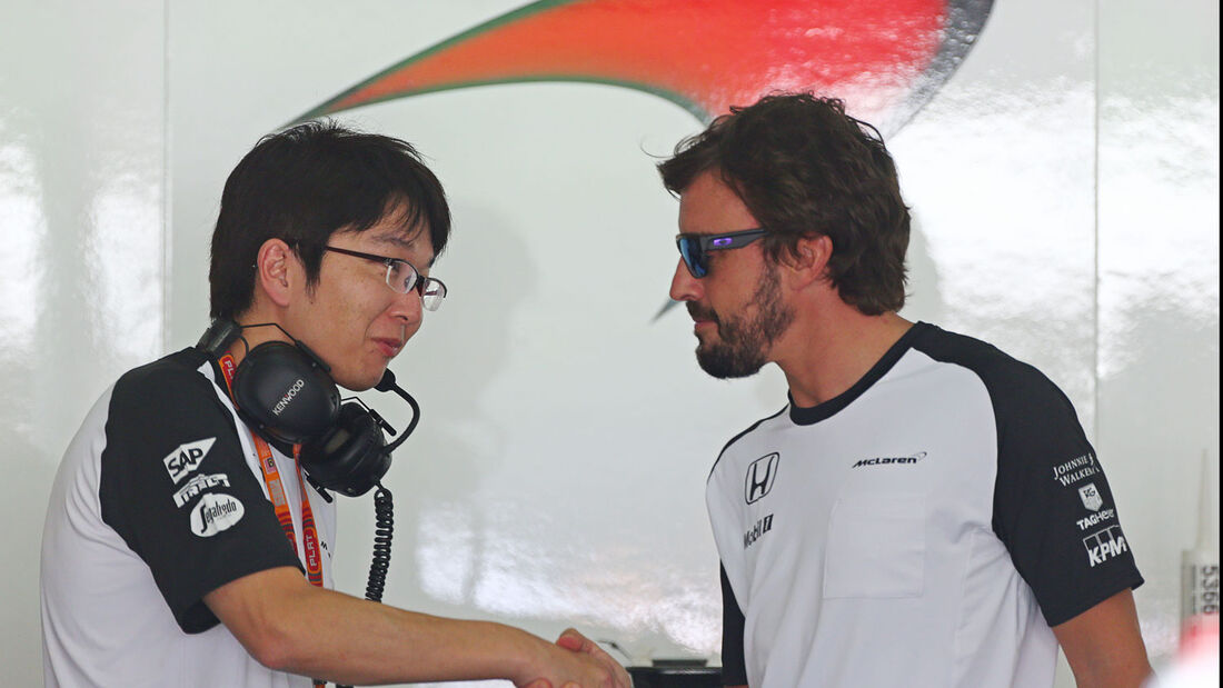 Fernando Alonso - McLaren-Honda - GP Malaysia - Donnerstag - 26.3.2015