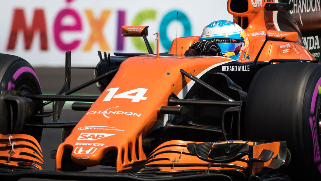 Fernando Alonso - McLaren-Honda - GP Mexiko 2017 - Qualifying