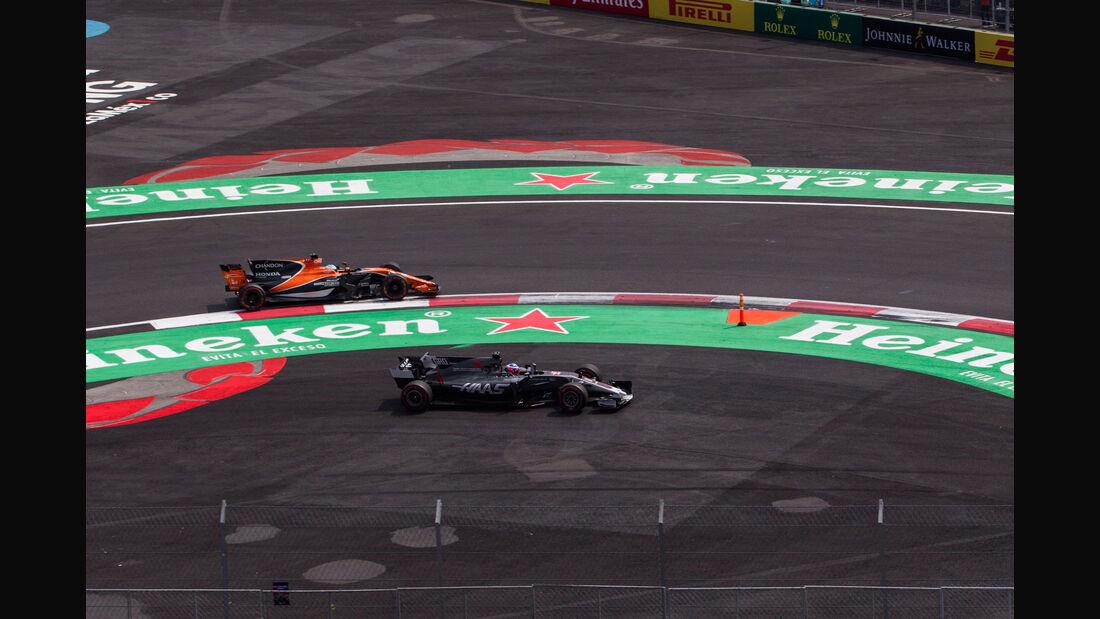 Fernando Alonso - McLaren-Honda - GP Mexiko 2017 - Rennen