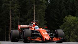 Fernando Alonso - McLaren-Honda - GP Österreich 2017 - Qualifying