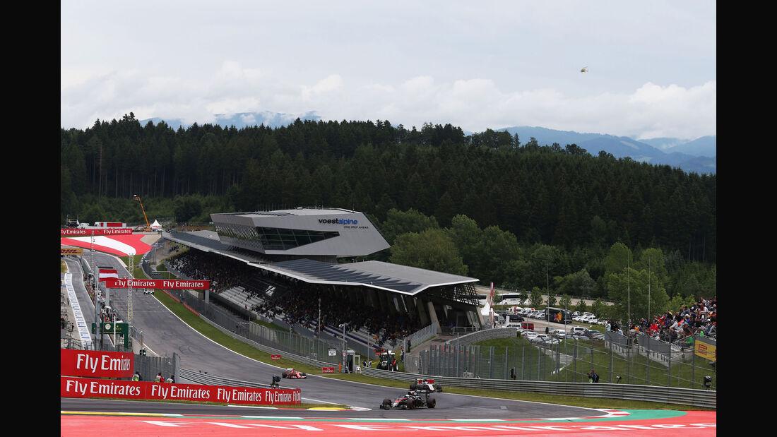 Fernando Alonso - McLaren-Honda - GP Österreich - Qualifiying - Formel 1 - Samstag - 20.6.2015