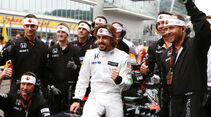 Fernando Alonso - McLaren-Honda - GP Russland 2015 - Sochi - Rennen