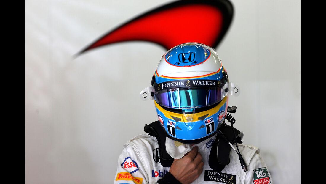 Fernando Alonso - McLaren-Honda - GP Spanien - Barcelona - Freitag - 8.5.2015