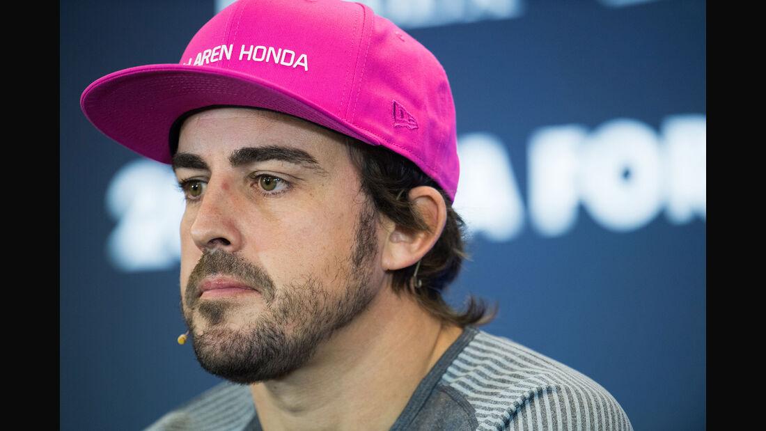 Fernando Alonso - McLaren-Honda - GP USA - Austin - Formel 1 - Donnerstag - 19.10.2017