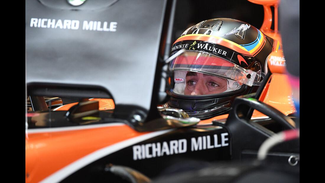 Fernando Alonso - McLaren-Honda - GP USA - Austin - Formel 1 - Freitag - 20.10.2017