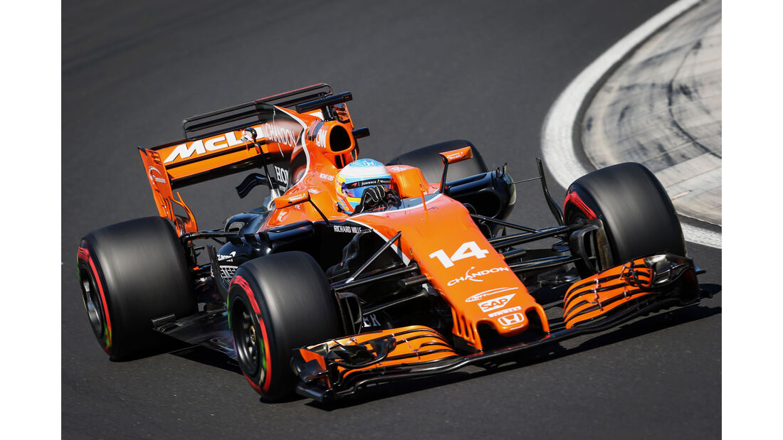 Fernando Alonso - McLaren-Honda - GP Ungarn 2017 - Budapest - Qualifying