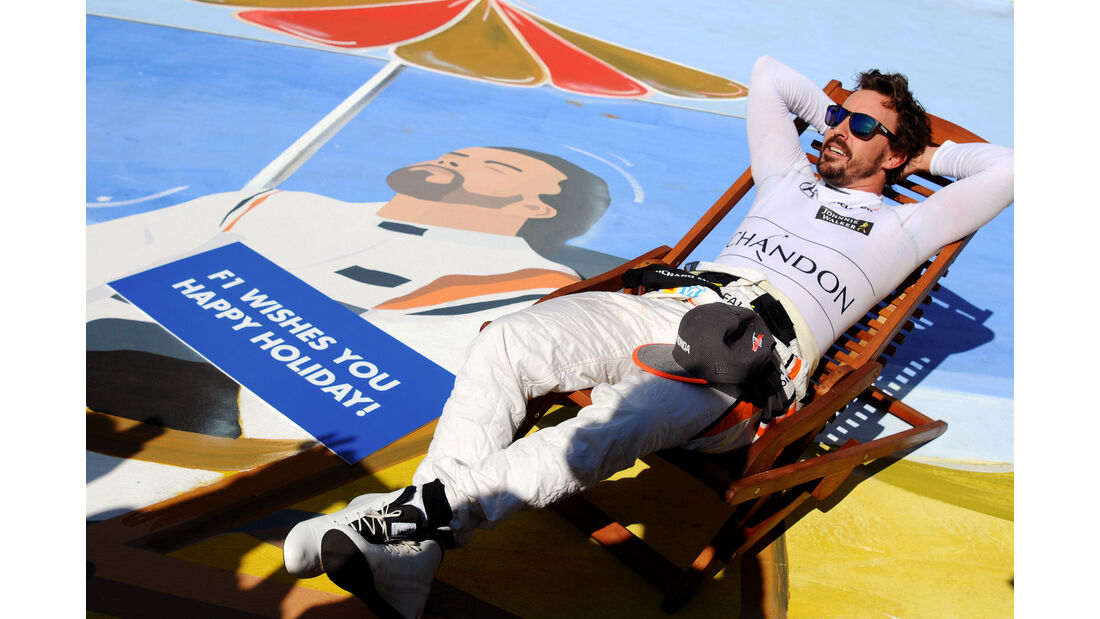 Fernando Alonso - McLaren-Honda - GP Ungarn 2017 - Budapest - Rennen