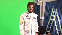 Fernando Alonso - McLaren-Honda