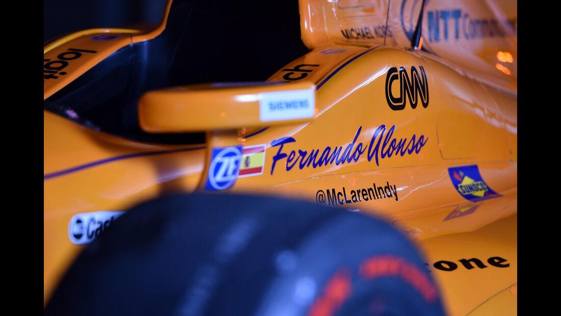 Fernando Alonso - McLaren - IndyCar - 2017