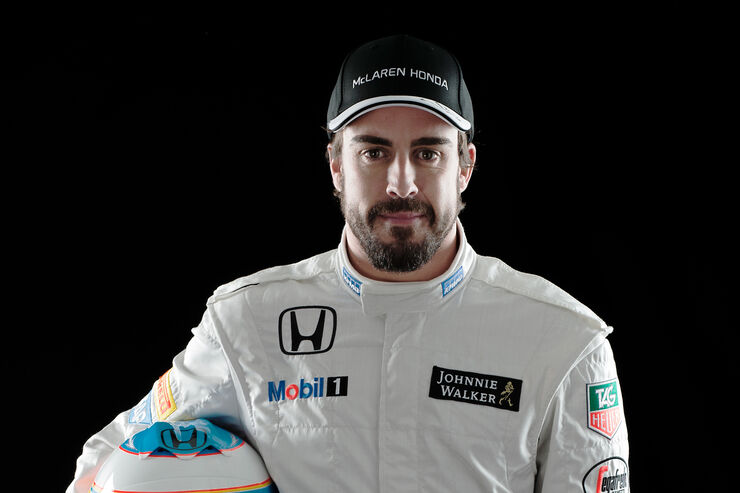 Fernando Alonso - McLaren - Porträt 2015