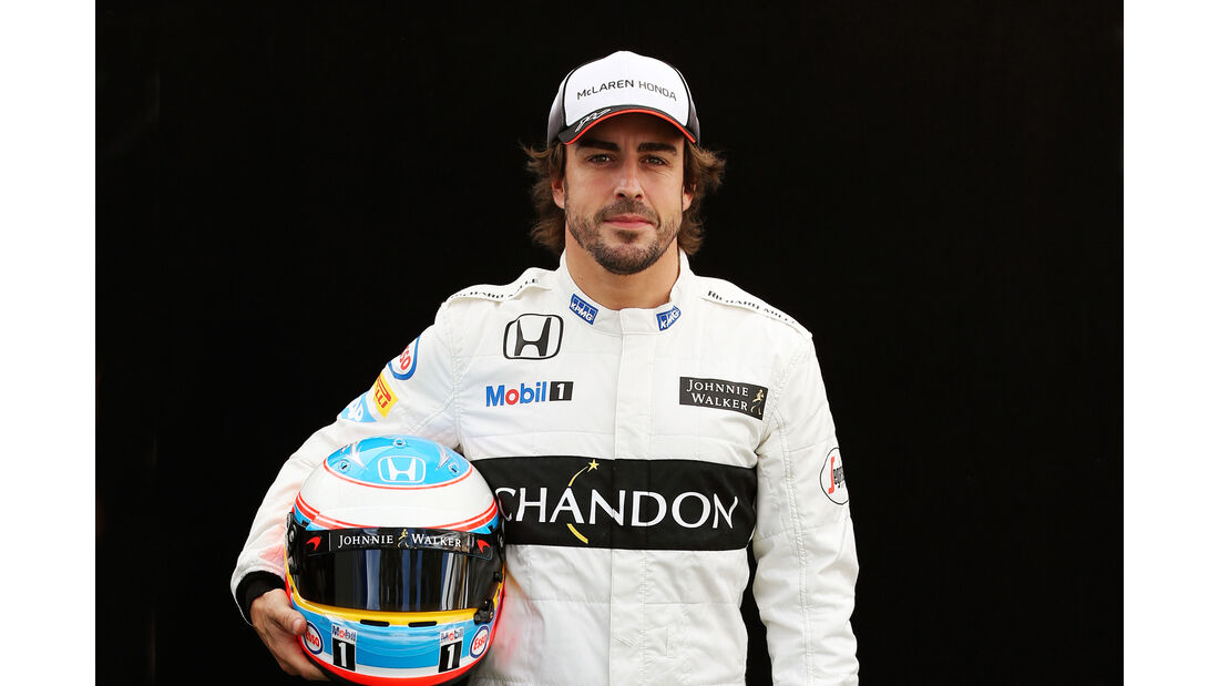 Fernando Alonso - McLaren - Porträt - Formel 1 - 2016
