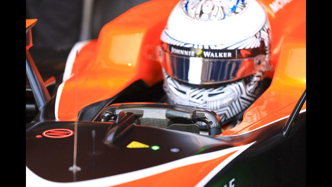 Fernando Alonso - McLaren - Testfahrten - Barcelona