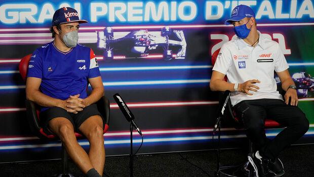 Fernando Alonso & Mick Schumacher - GP Italien 2021