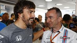 Fernando Alonso & Paddy Lowe - GP Ungarn 2017