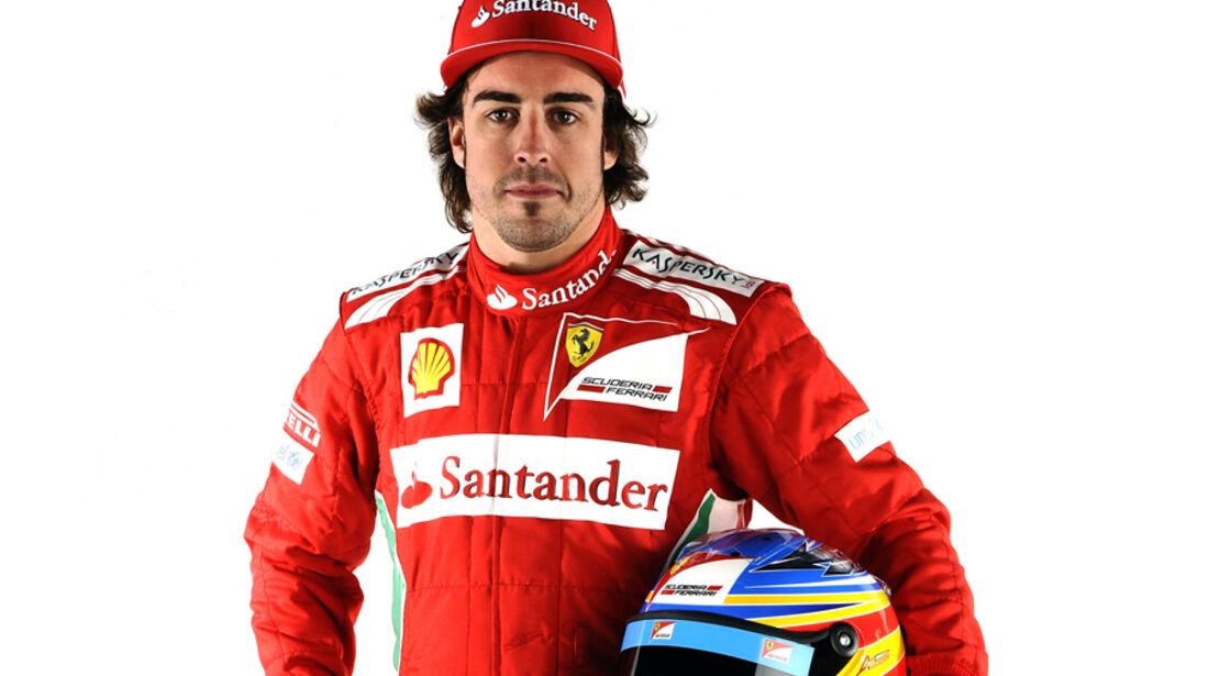 Fernando Alonso Porträt 2012