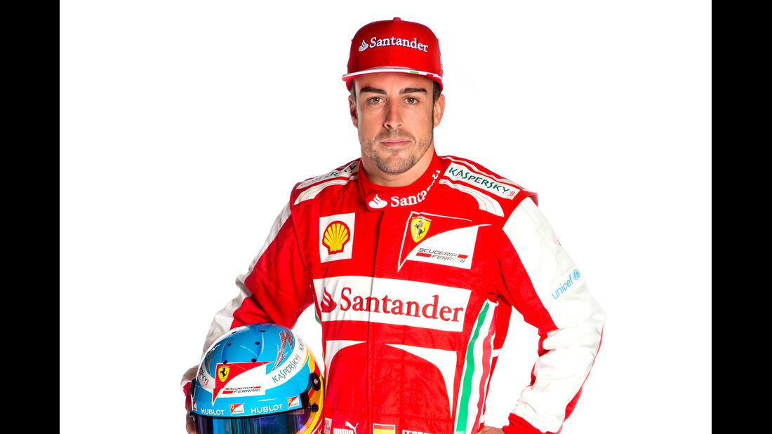 Fernando Alonso Porträt 2013