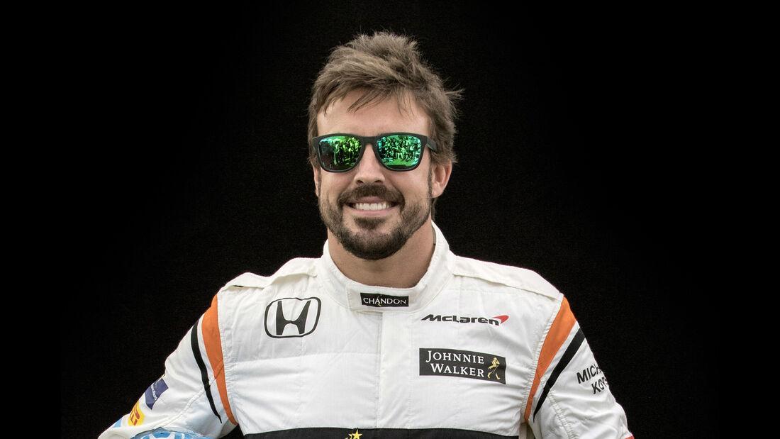 Fernando Alonso - Porträt - Formel 1 - 2017