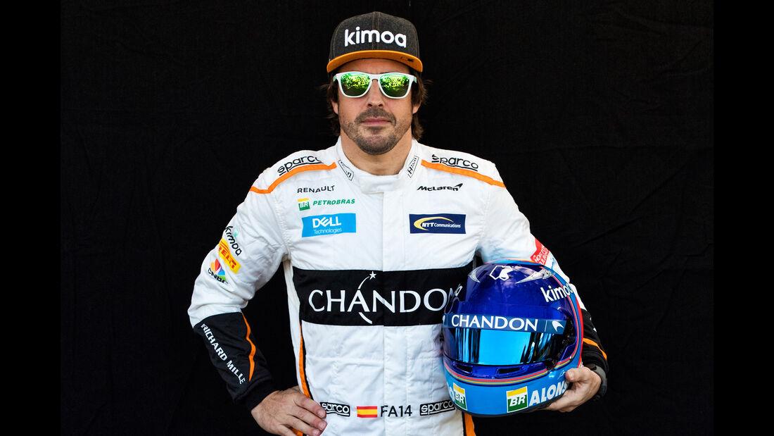 Fernando Alonso - Porträt - Formel 1 - 2018