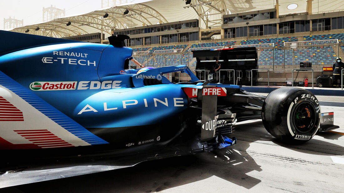 Fernando Alonso - Renault - Formel 1 - Test - Bahrain - 13. März 2021