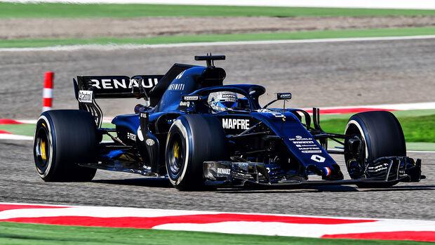 Fernando Alonso - Renault R.S.18 - Testfahrten - Bahrain - November 2020