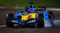 Fernando Alonso - Renault R25 - Formel 1 - GP Abu Dhabi - Samstag - 12.12.2020