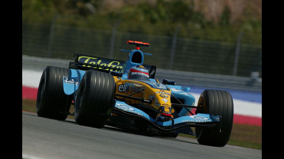 Fernando Alonso - Renault R25 - GP Malaysia 2005