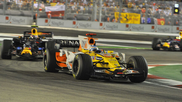 Fernando Alonso - Renault R28 - GP Singapur 2008
