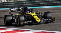 Fernando Alonso - Renault - Testfahrten - Abu Dhabi 2020