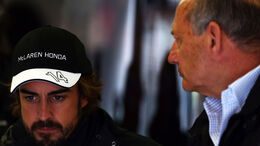 Fernando Alonso - Ron Dennis - McLaren-Honda - GP Österreich - Qualifiying - Formel 1 - Samstag - 20.6.2015
