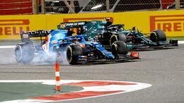 Fernando Alonso & Sebastian Vettel - GP Bahrain 2021