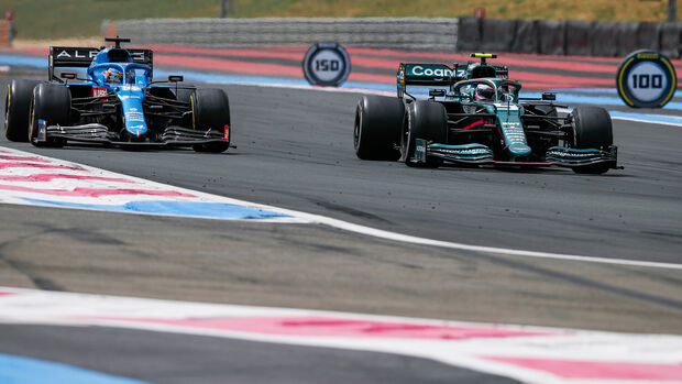 Fernando Alonso - Sebastian Vettel - GP Frankreich 2021 - Paul Ricard