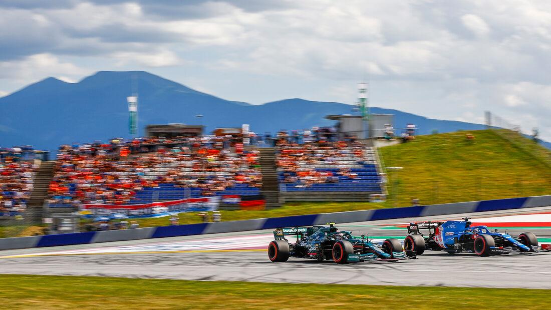 Fernando Alonso - Sebastian Vettel - GP Österreich 2021 - Spielberg - Qualifikation