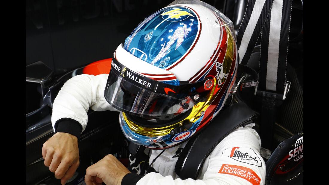 Fernando Alonso - Spezialhelm - GP Monaco 2016