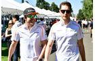 Fernando Alonso - Stoffel Vandoorne - McLaren - GP Australien 2018 - Melbourne - Albert Park - Donnerstag - 22.3.2018