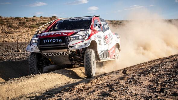 Fernando Alonso - Toyota Hilux - Rallye Raid - Test 2019